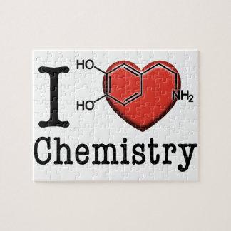 J'aime la chimie puzzle