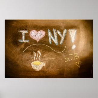 J'aime la déclaration de tableau de NY