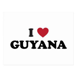 J'aime la Guyane Carte Postale