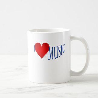 J'aime la musique mug