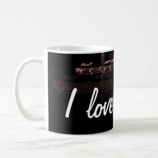 """""""J'aime la musique """" Mug"""