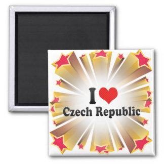 J'aime la République Tchèque Aimant