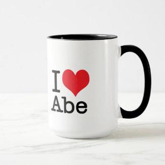 J'aime la tasse d'Abe