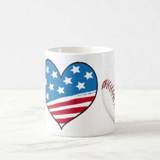J'aime la tasse de BASE-BALL
