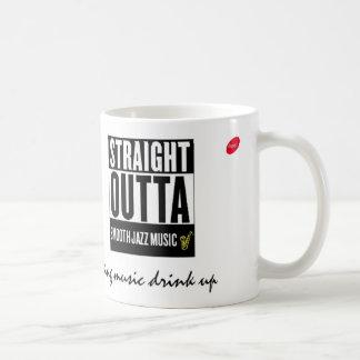 J'aime la tasse lisse 21 du club de fan de jazz