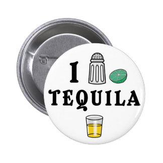 J'aime la tequila pin's avec agrafe