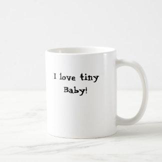 J'aime le bébé minuscule ! mug