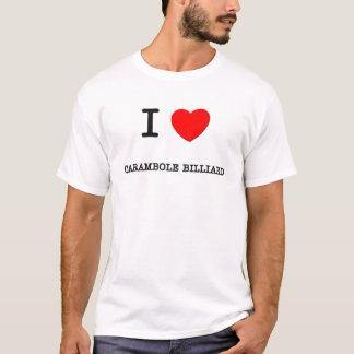 J'aime le billard de Carambole T-shirt
