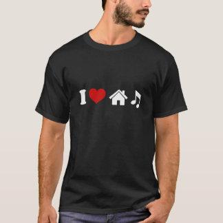 J'aime le cadeau du DJ de danse du T-shirt | Ibiza