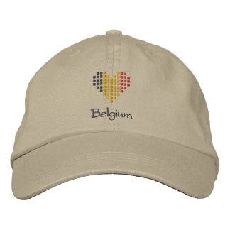 J'aime le casquette de la Belgique - casquette