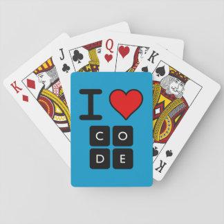 J'aime le code cartes à jouer