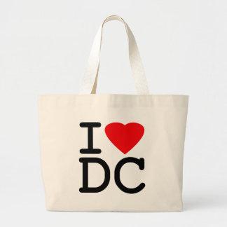 J'aime le District de Columbia de DC de Washington Grand Sac