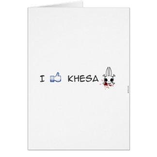 j'aime le khesa carte