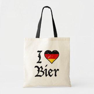J'aime le sac allemand drôle d'Oktoberfest de