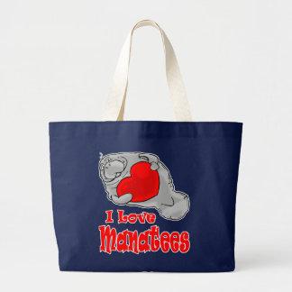 J'aime le sac fourre-tout à lamantins