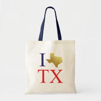 J'aime le sac fourre-tout au Texas