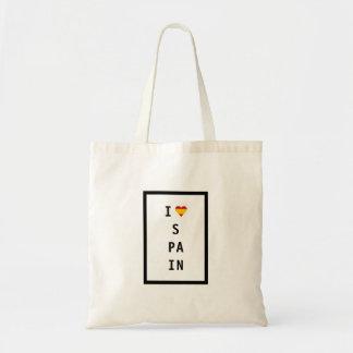 J'aime le sac fourre-tout de l'Espagne