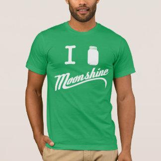 J'aime le T-shirt d'alcool illégal