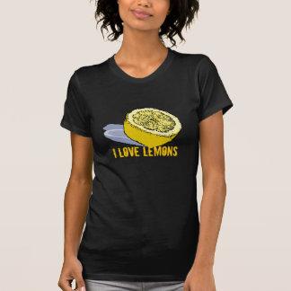 J'aime le T-shirt de citrons