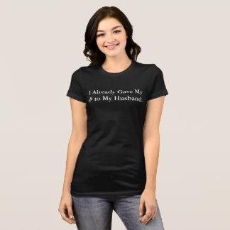 J'aime le T-shirt de mariage