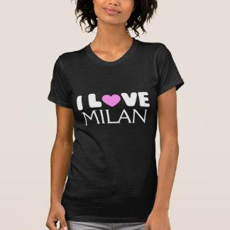 J'aime le T-shirt de Milan |