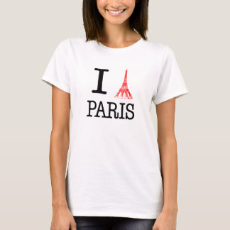 J'aime le T-shirt de Paris