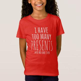 J'aime le T-shirt de vacances de présents