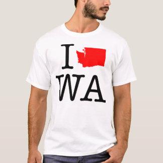 J'aime le T-shirt de WA Washington