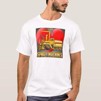 J'aime le T-shirt des hommes de machines de pavage