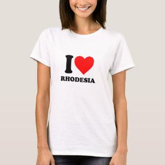 J'aime le T-shirt frais de la Rhodésie