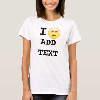 J'aime le T-shirts fait sur commande