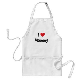 J'aime le tablier de maman