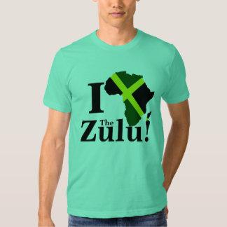 J'aime le zoulou ! tee-shirts