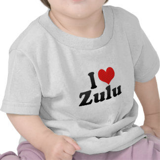 J'aime le zoulou t-shirts