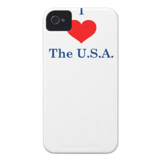 J'aime les Etats-Unis Coques Case-Mate iPhone 4