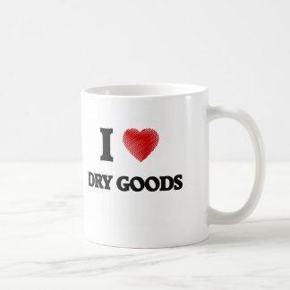 J'aime les marchandises sèches mug