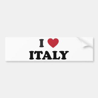 J'aime l'Italie Autocollant De Voiture