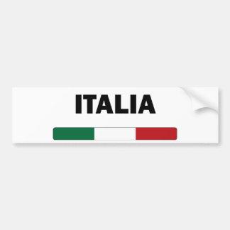J'aime l'Italie Adhésif Pour Voiture
