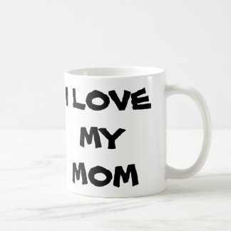 J'aime ma maman mug blanc