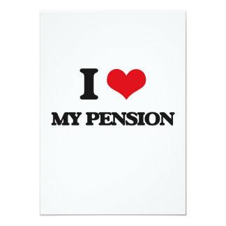 J'aime ma pension faire-part personnalisés