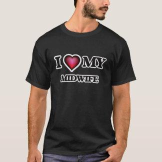 J'aime ma sage-femme t-shirt