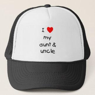 J'aime ma tante et oncle casquette