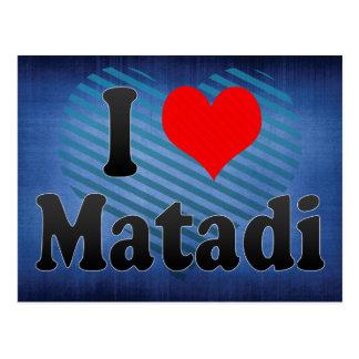 J'aime Matadi, Congo Carte Postale