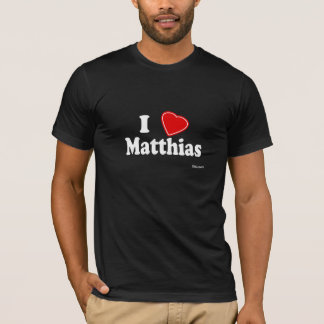 J'aime Matthias T-shirt
