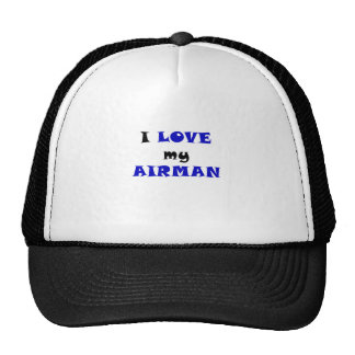 J'aime mon aviateur casquettes de camionneur