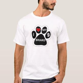 J'aime mon Briard T-shirt