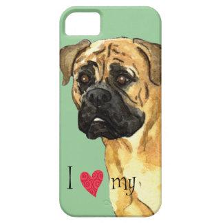 J'aime mon Bullmastiff Coque iPhone 5 Case-Mate