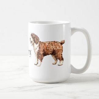 J'aime mon chien d'eau espagnol mug blanc