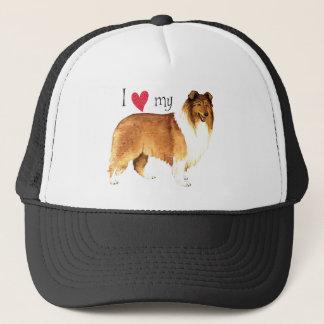 J'aime mon colley casquette