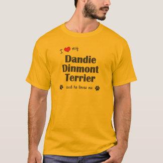 J'aime mon Dandie Dinmont Terrier (le chien T-shirt